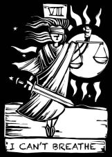 10901752 - tarot card major arcana image of justice